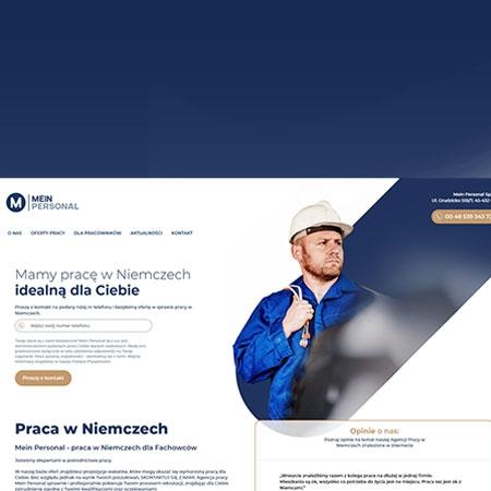 Strona internetowa opole - Meinpersonal