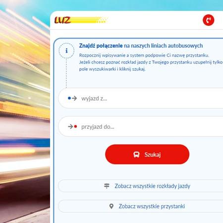 strona internetowa przewoźnika z Opola
