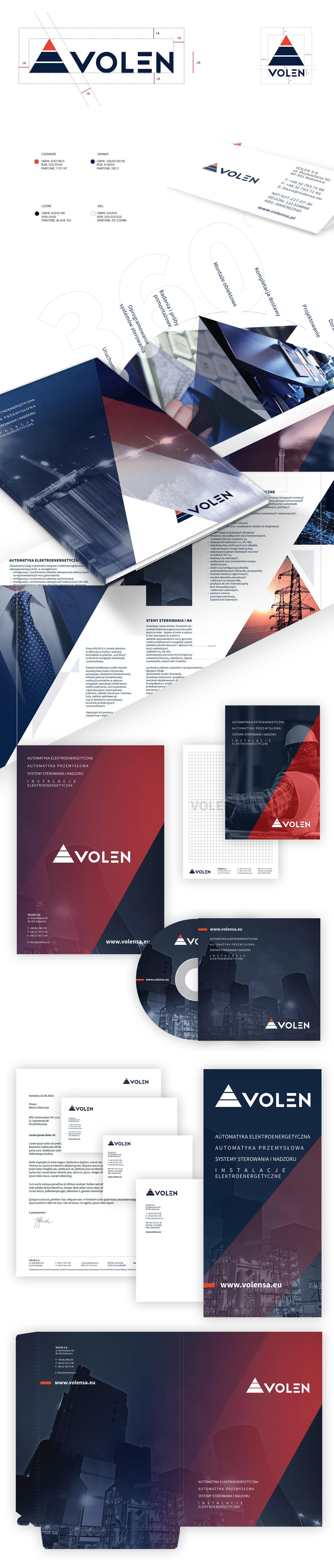 Brending, identyfikacja wizualna spółki z Katowic