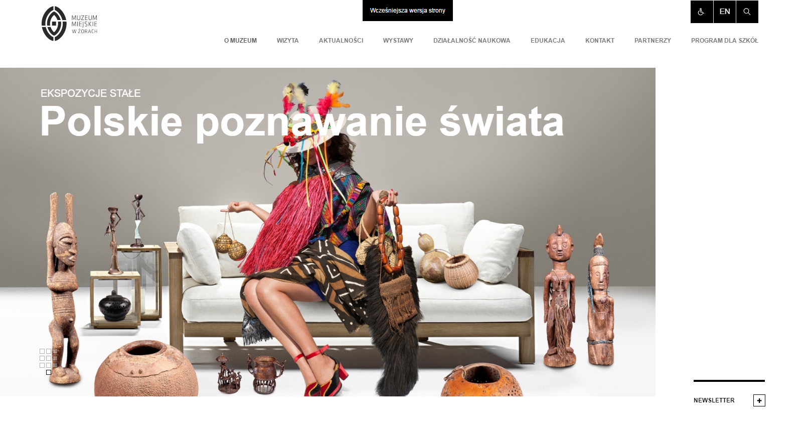 Główna strona portalu internetowego