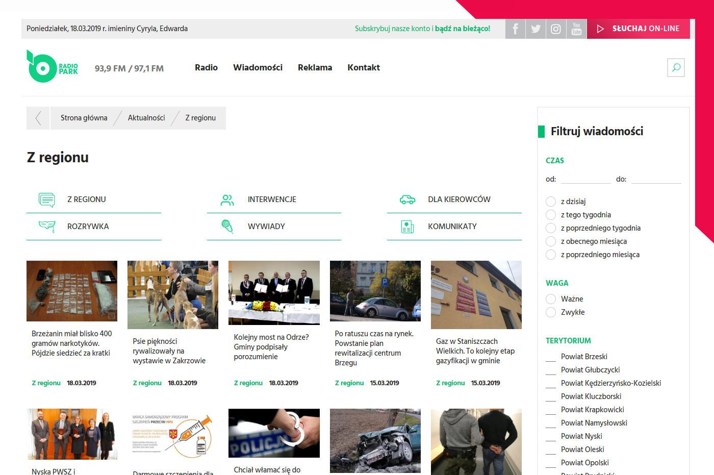 Nowoczesny portal internetowy