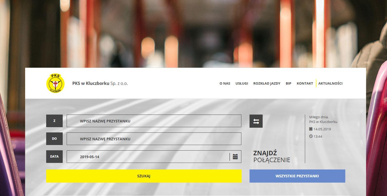Wyszukiwarka połączeń w portalu