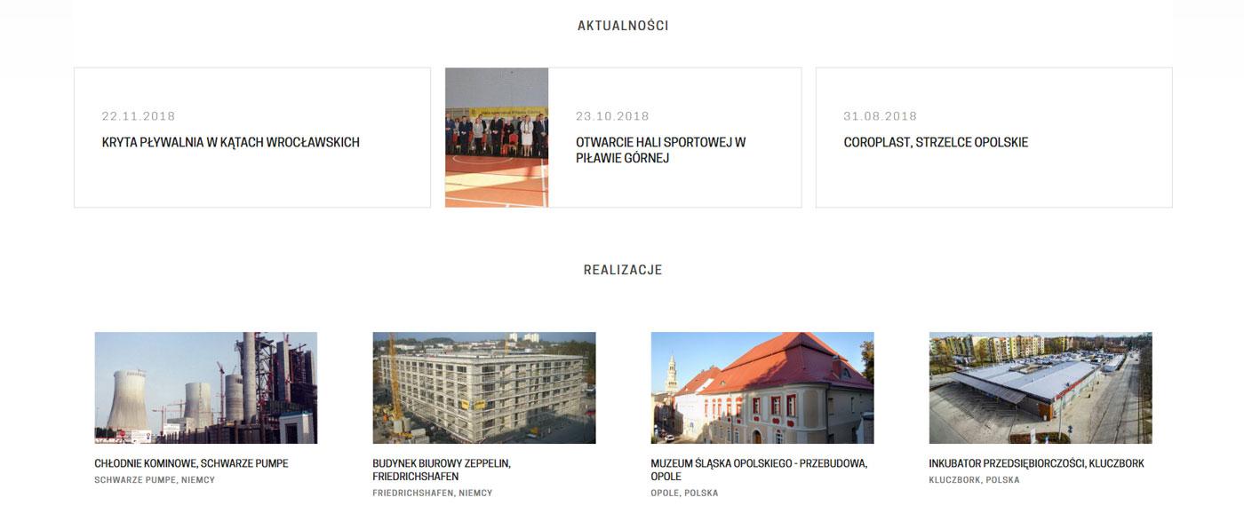 Portfolio strona www