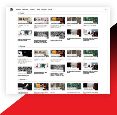 Swipe - pomysł na rozbudowaną stronę www