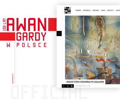 Nowoczesny design strony www