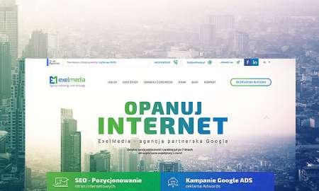 Strona www agencji marketingu internetowego