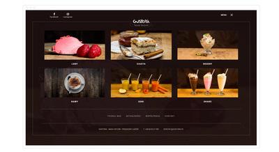 Smakowita oferta produktów na stronie www