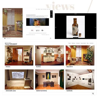 Galerie na stronie www
