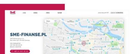 Strona kontaktu ze spółką z Wrocławia