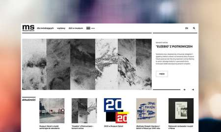 Portal internetowy dla muzeum z Łodzi