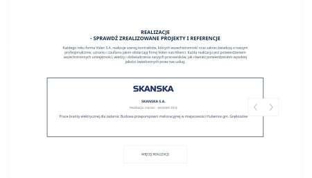 Referencje na stronie internetowej