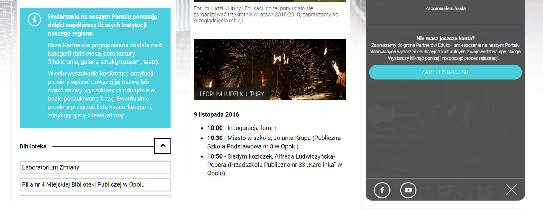 strona www opolskie