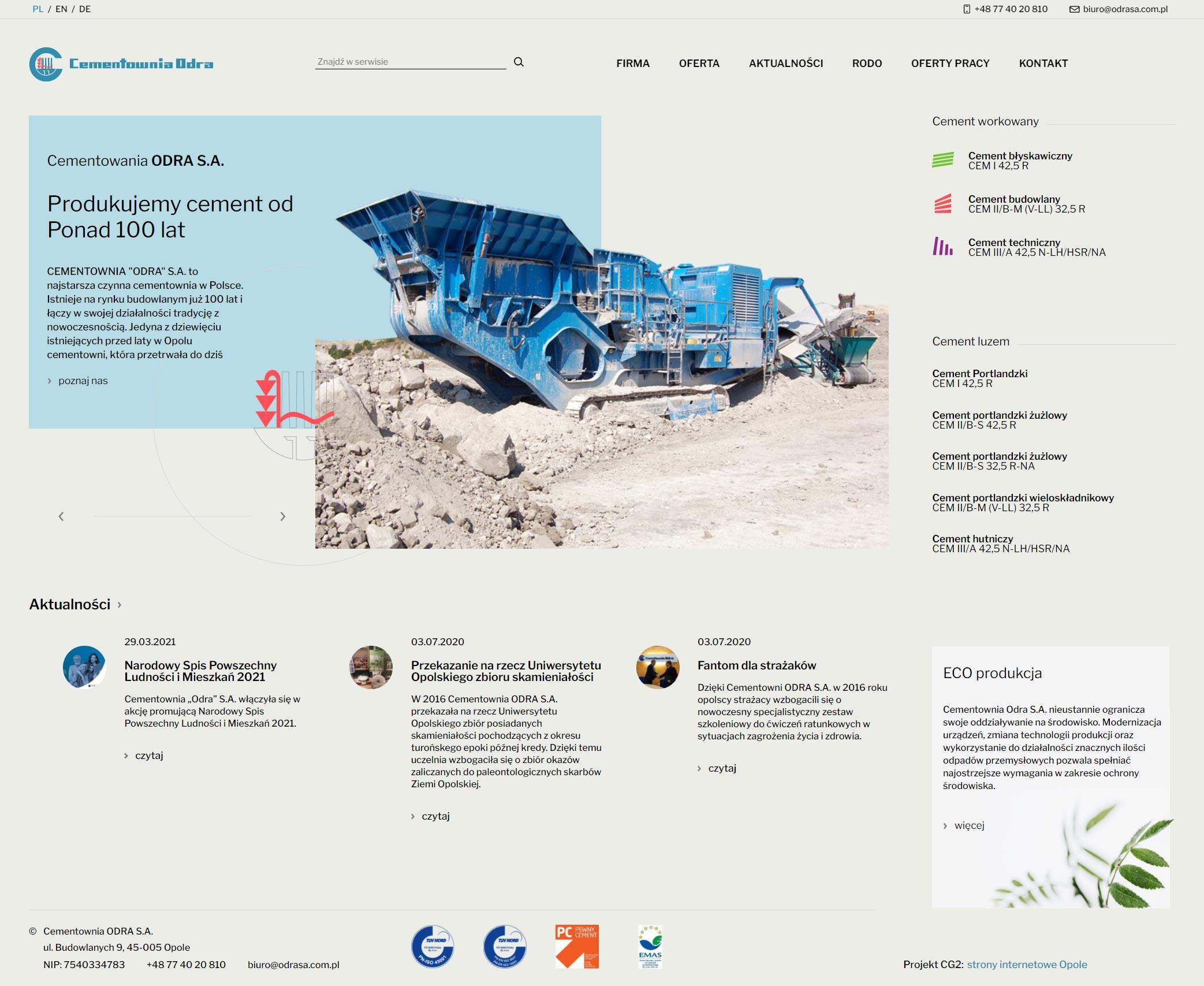 strona-www-odra