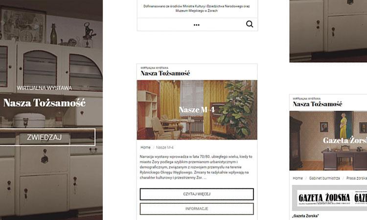 Wirtualna wystawa jako strona www